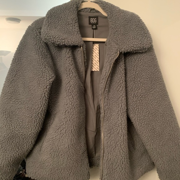 NWT Urban Outfitters Fleece Coat